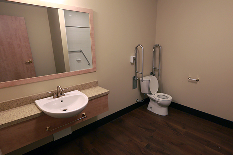 private care accessible bathroom