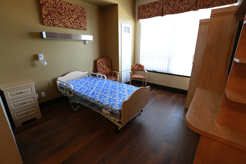 private care single bed room