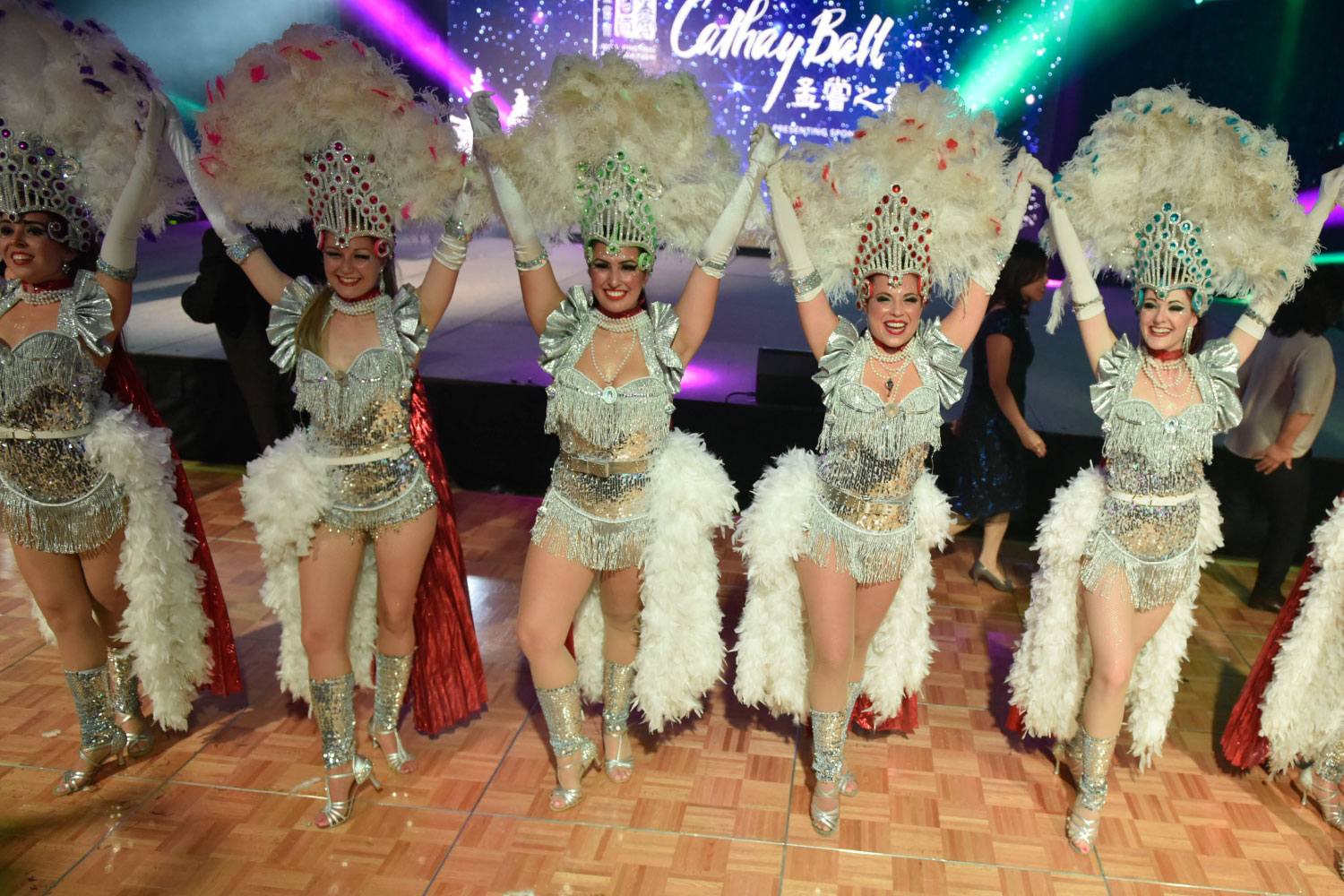 Cathay Ball Dancing Performance