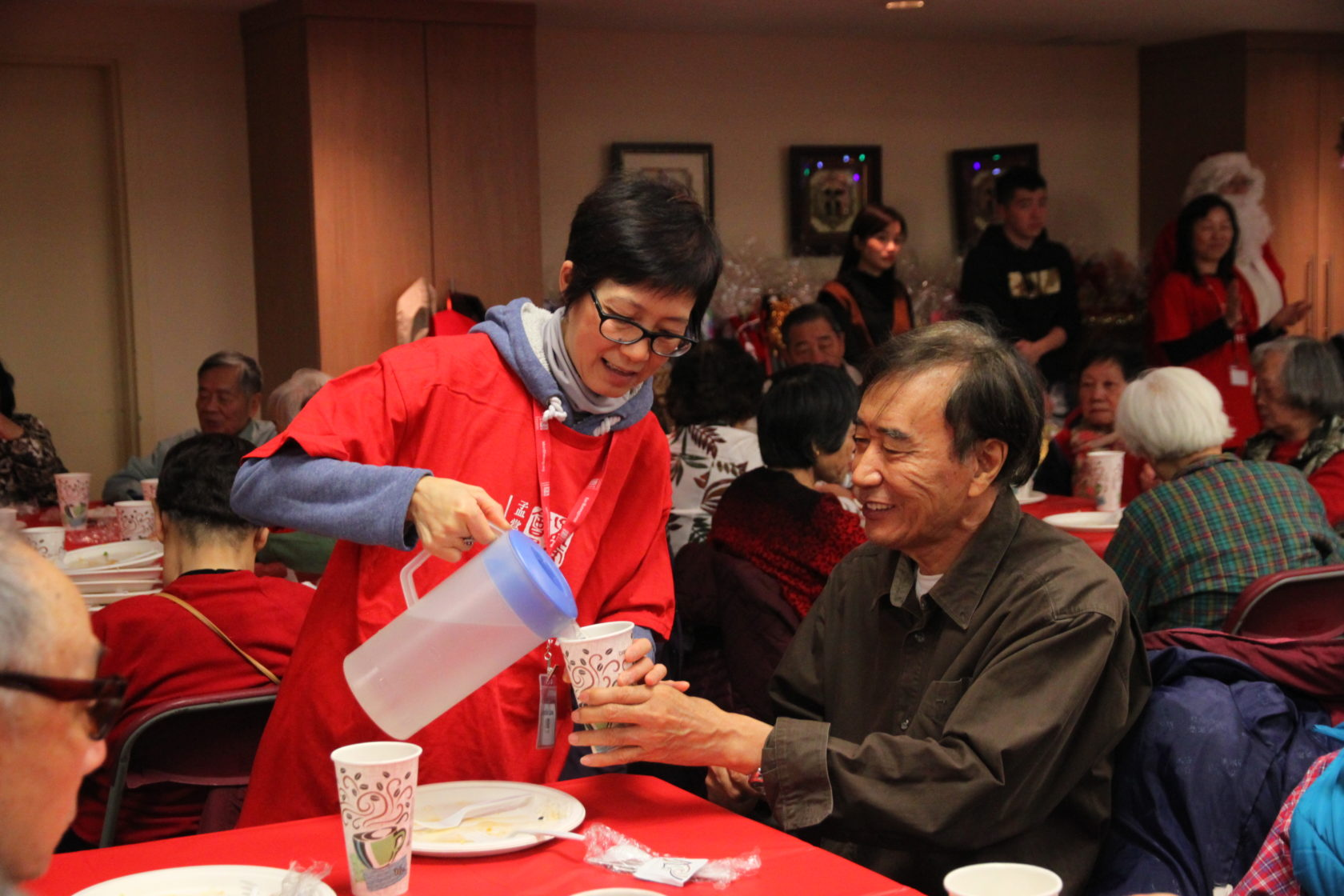Community Christmas Party for seniors