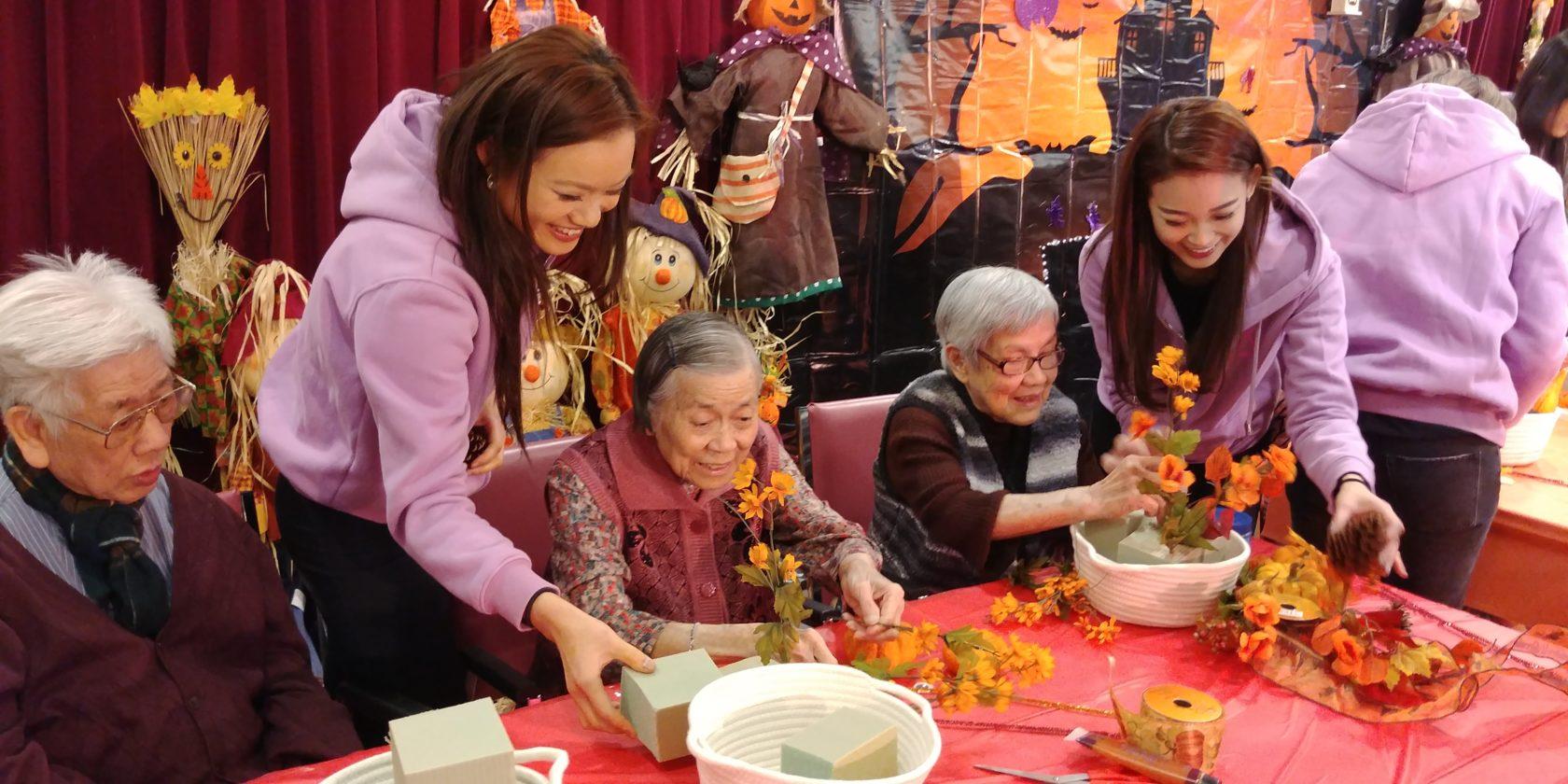 Miss Chinese Toronto Paegent visit