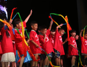 Children's Performance in Traditional Chinese Clothes