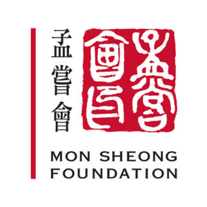 mon sheong foundation red and black logo